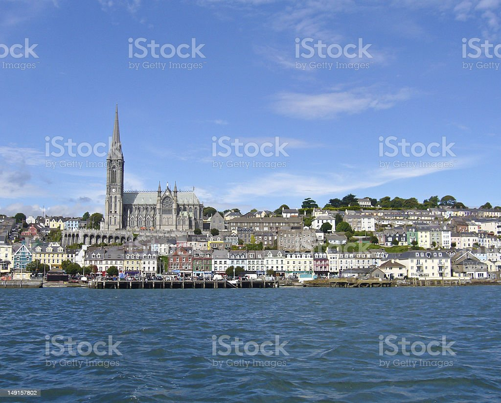 Last stop for the ill-fated Titanic, Cobh, Ireland stock photo