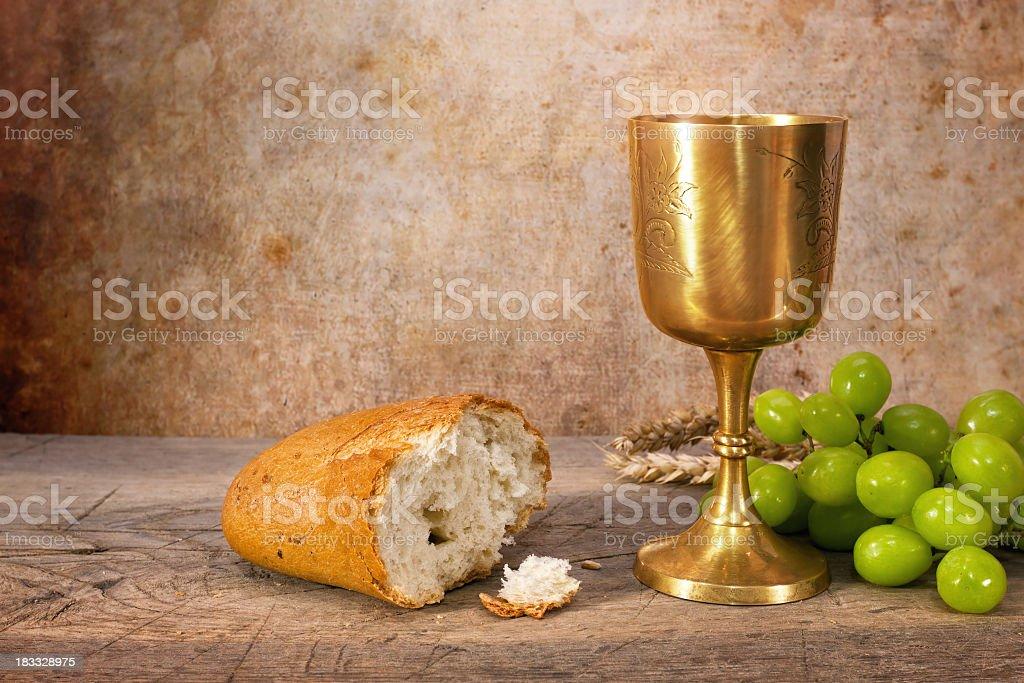 Last Supper stock photo