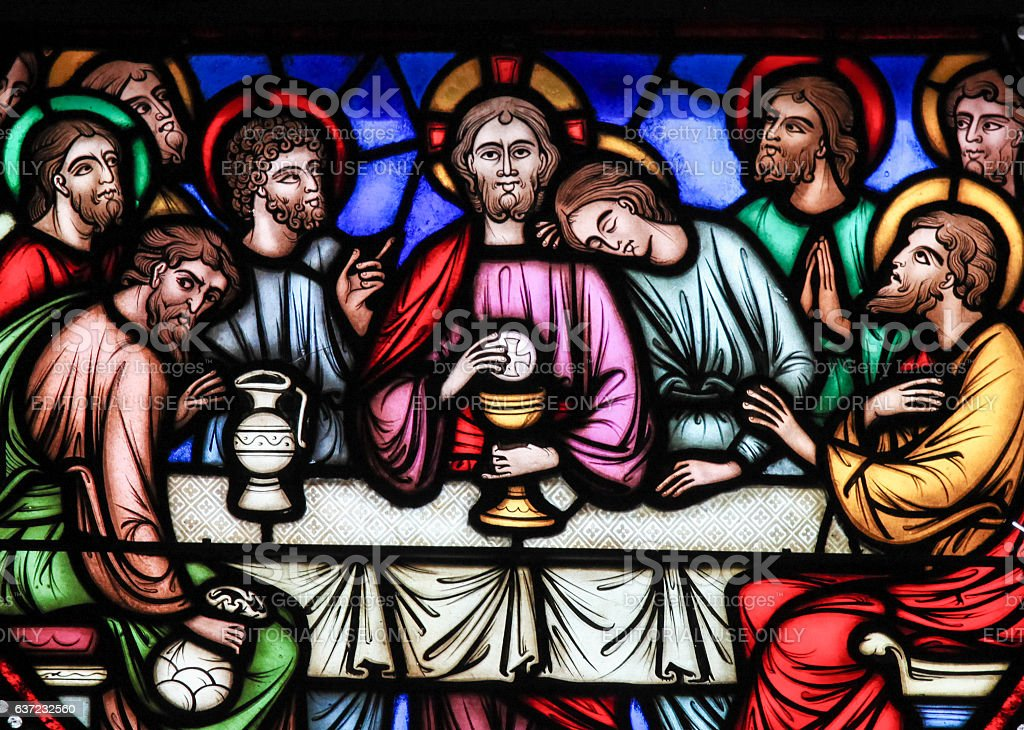 Last Supper - Stained Glass – Foto