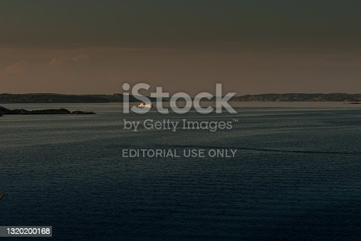 istock Last trip for the evening for the ferry Carl Wilhelmsson.. 1320200168