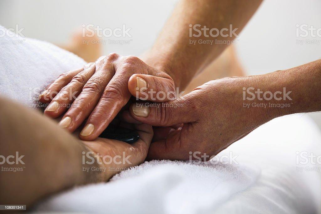 Lastone Therapy royalty-free stock photo