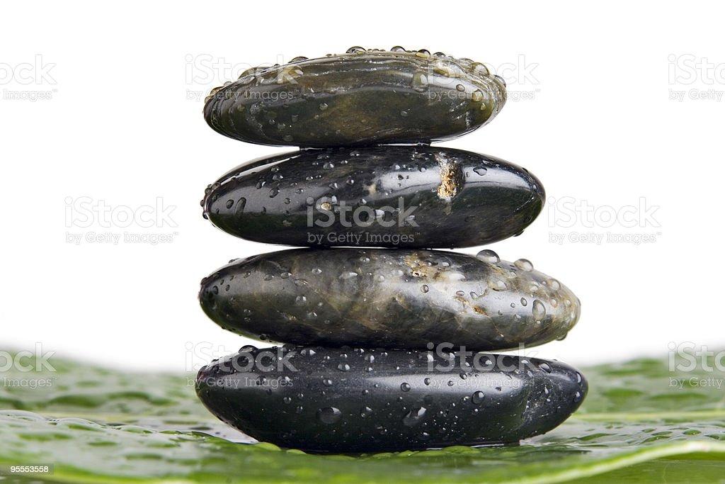 Lastone therapy stones royalty-free stock photo