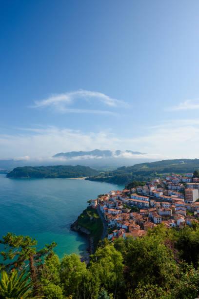 Lastres, small coastal village in Asturias Spain
