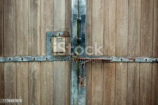 1178501072istockphoto latch on the gate 1176497876