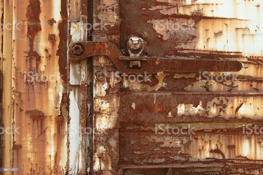 latch on train royalty-free stock photo