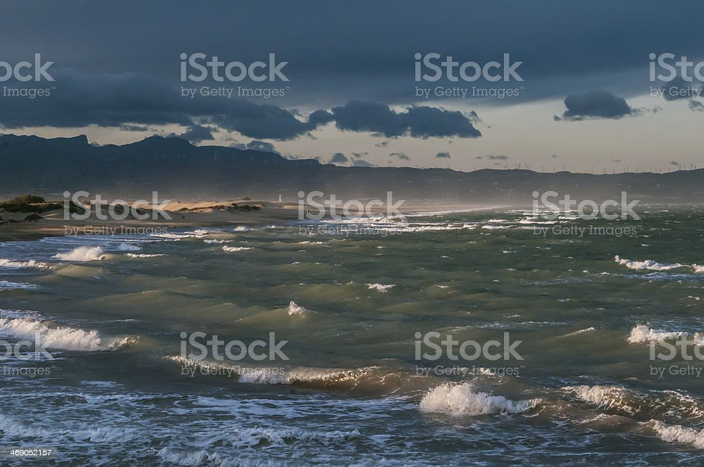 late afternoon stock photo
