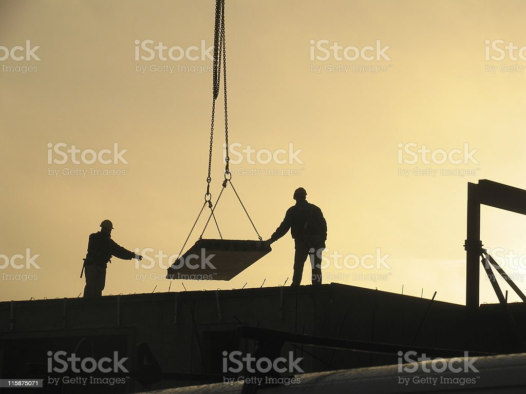 Late constructing # 3 royalty-free stock photo