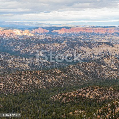 Late fall in Bryce Canyon National Park, Utah, USA.