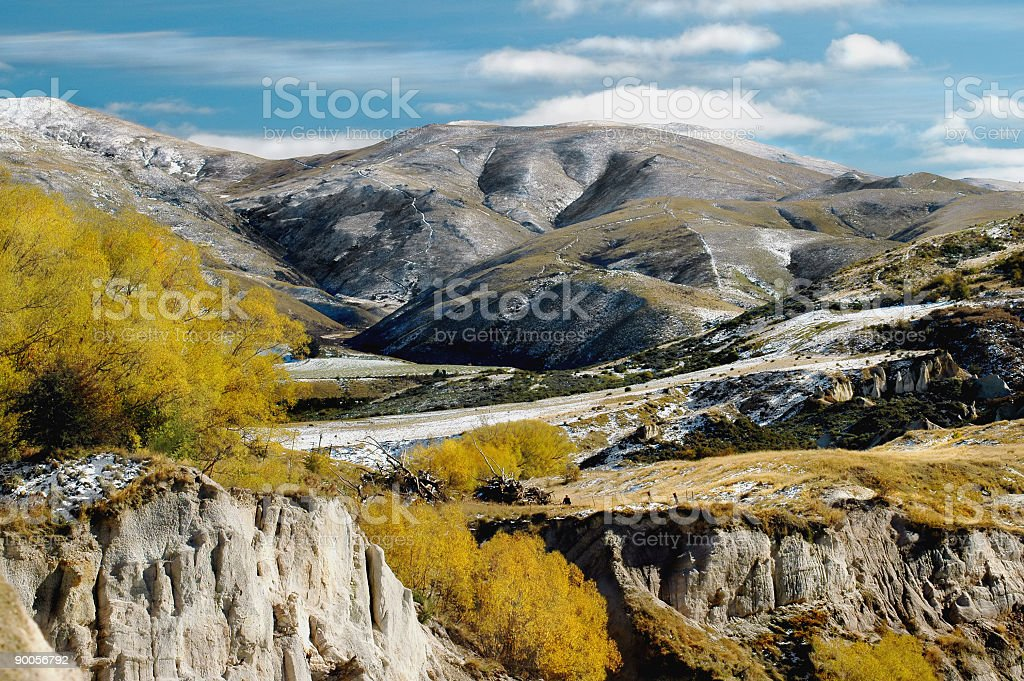 Late Fall landscape royalty-free stock photo
