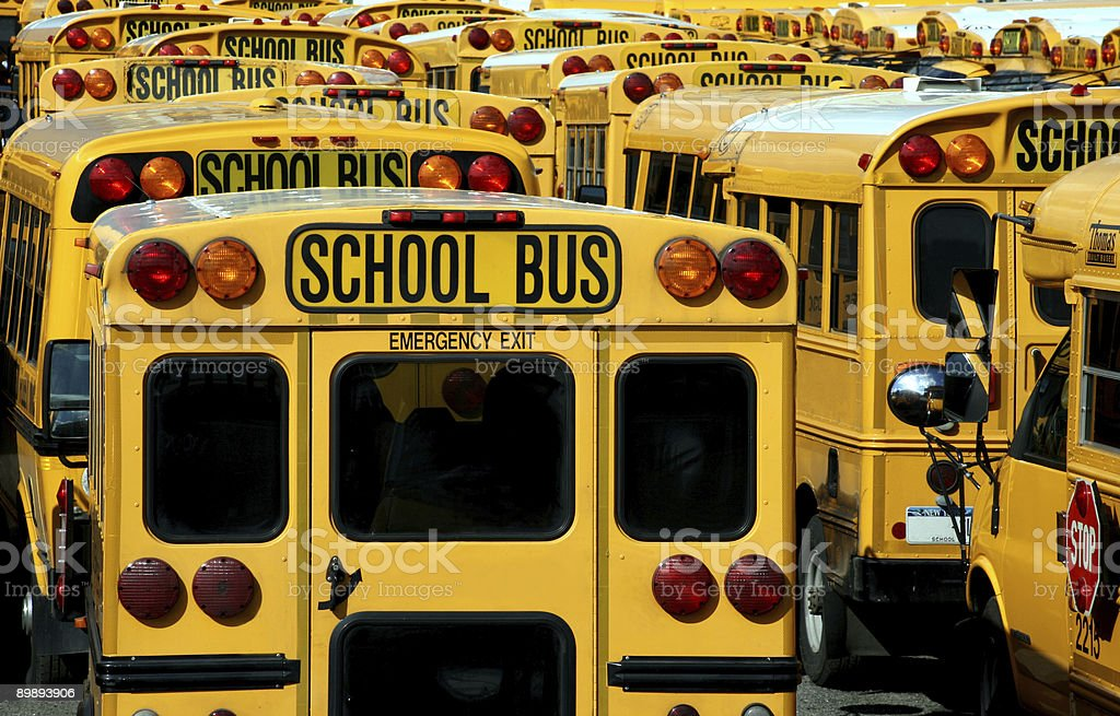 Late for school royalty-free stock photo