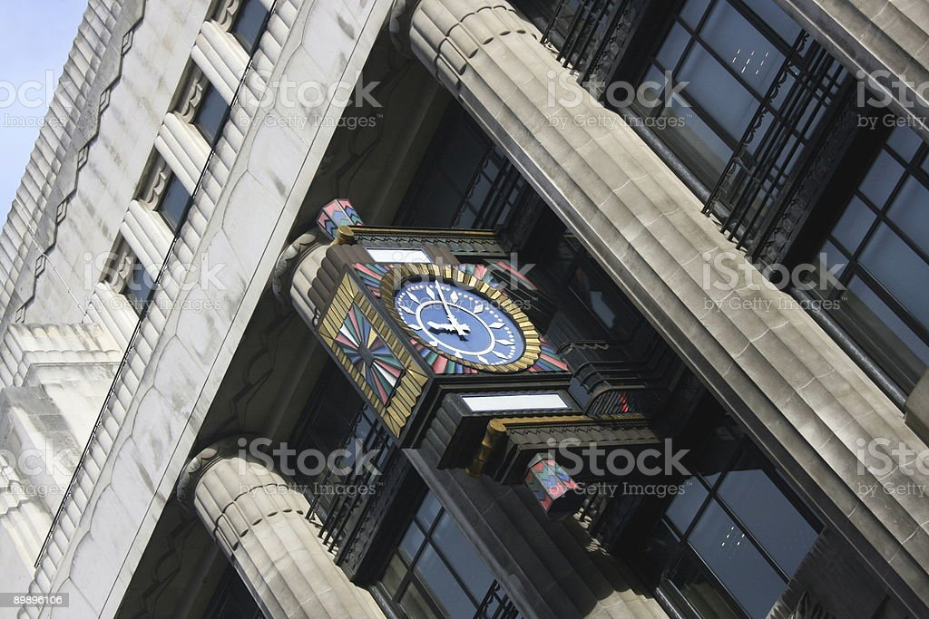 Late for work royalty-free stock photo