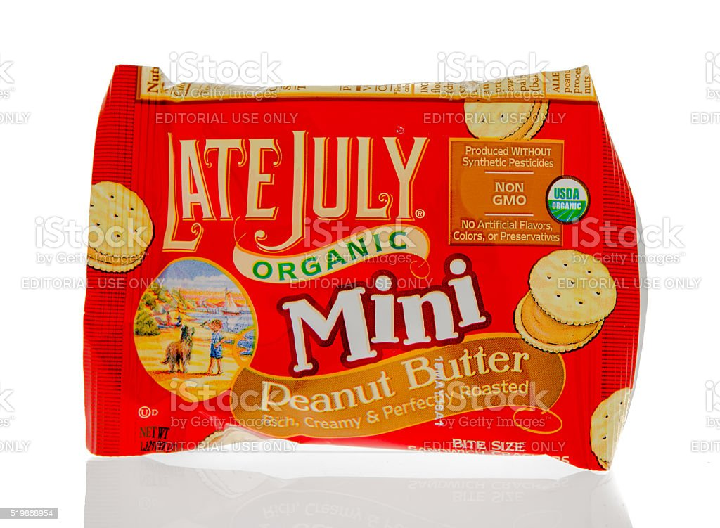 Late July Minin Cookies stock photo