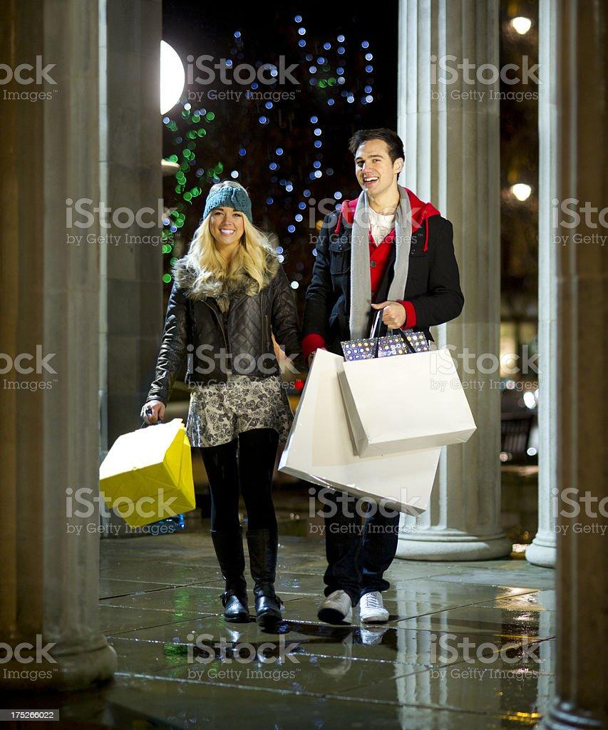 late night shopping royalty-free stock photo