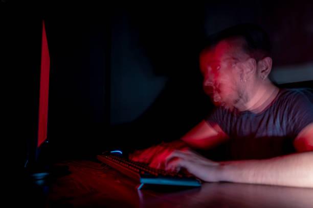 Spät in die Nacht arbeiten – Foto