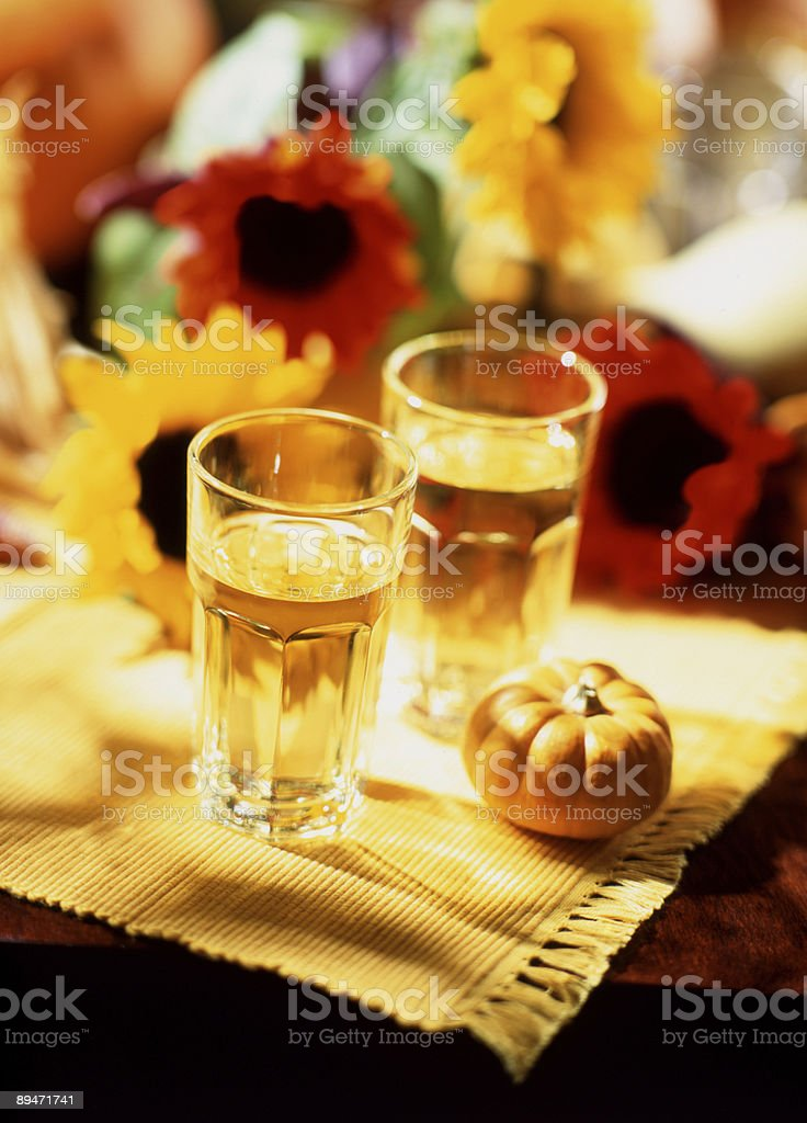 Late Summer Drink royalty-free stock photo