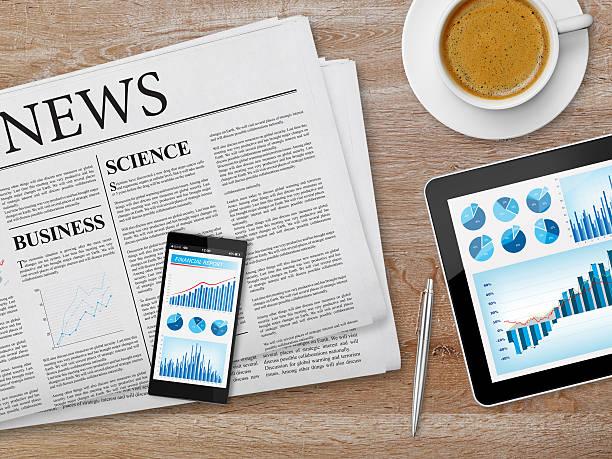 latest news feed - www kaffee oder tee stock-fotos und bilder
