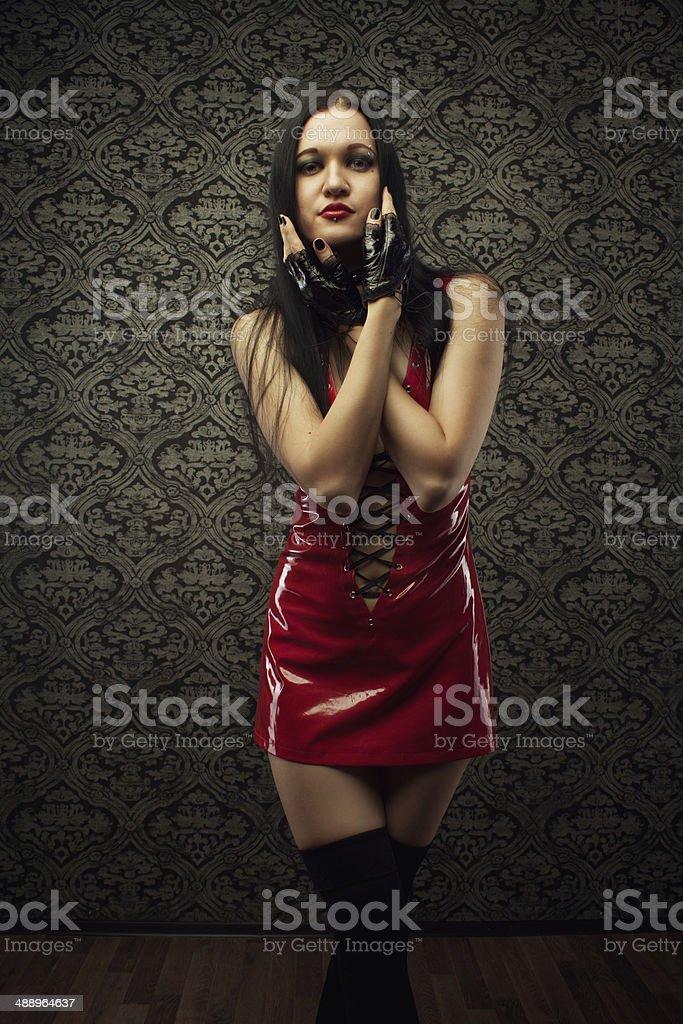 Latex Doll Royalty Free Stock Photo