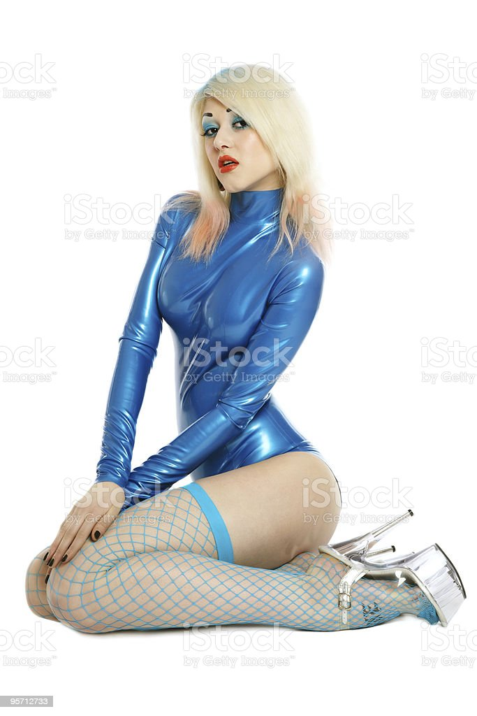 9146aca46 Latex Pinup Stock Photo - Download Image Now - iStock