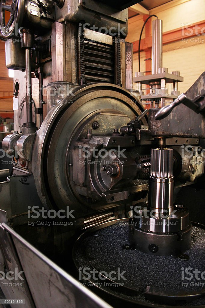 Lathe Machine stock photo