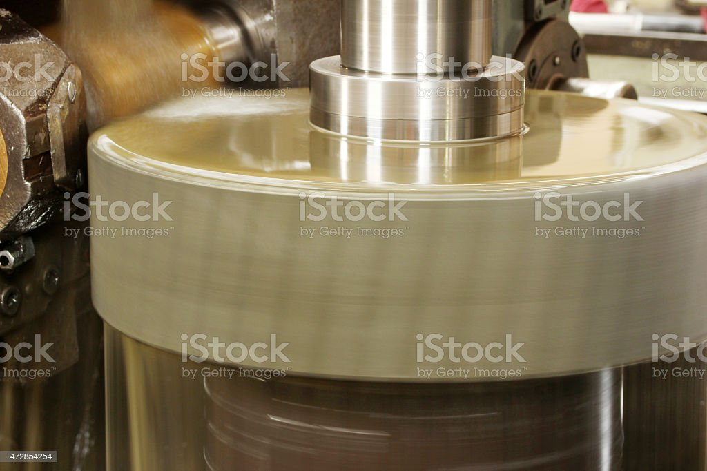 Lathe stock photo