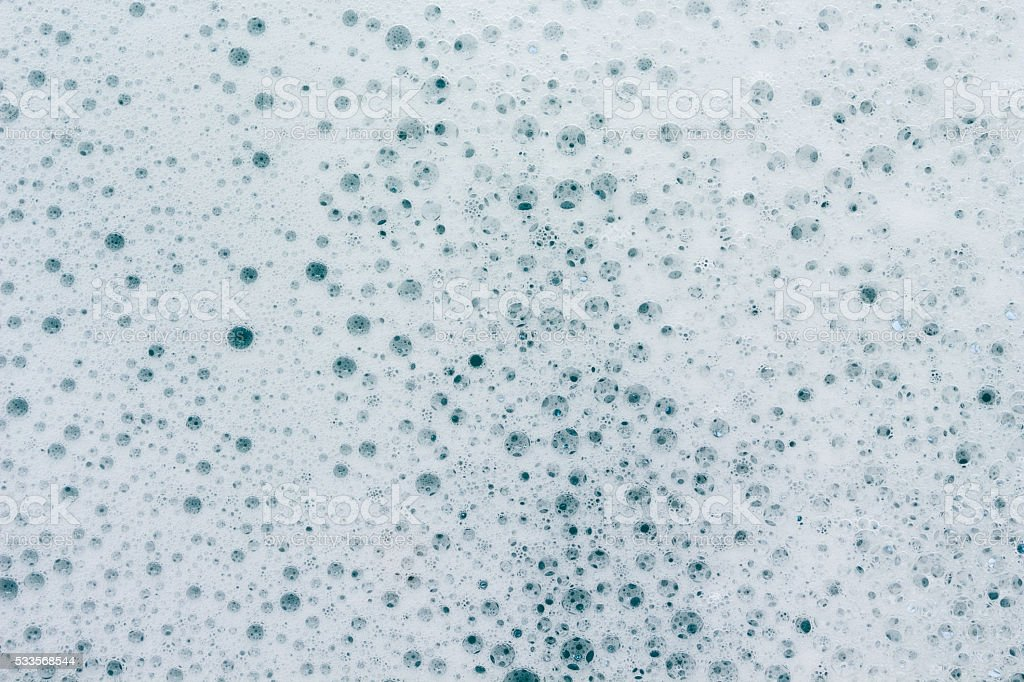 Lather, Bubbles from Bath stock photo