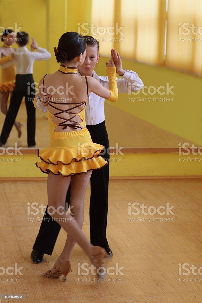 latin dancing royalty-free stock photo