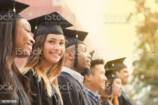 Latin descent female college student graduation on campus picture id907837926?b=1&k=6&m=907837926&s=612x612&h=luiorqbmfwtowvh n 9nkrx j16wmvqfqyxxuxuyslm=