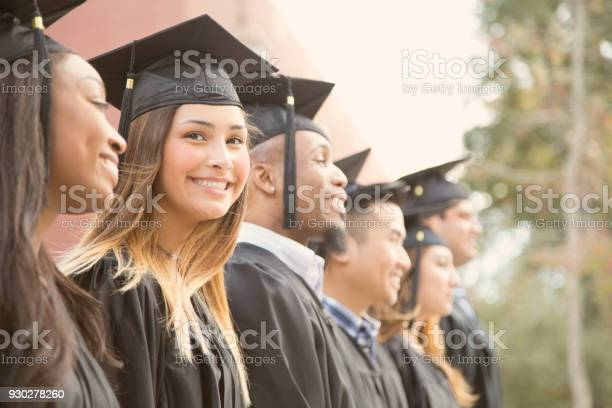 Latin descent female college student graduation on campus picture id930278260?b=1&k=6&m=930278260&s=612x612&h=22kior4j rvxdcsuxzsfy2lrsmzri4fxthbi1ilg3mo=