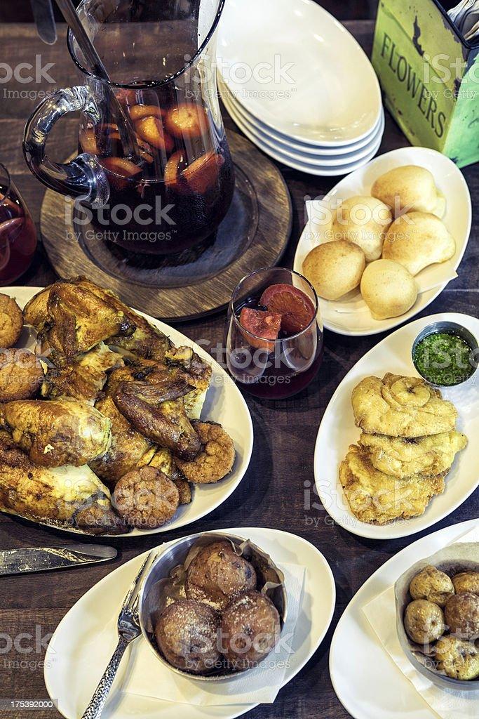 Latin Food stock photo