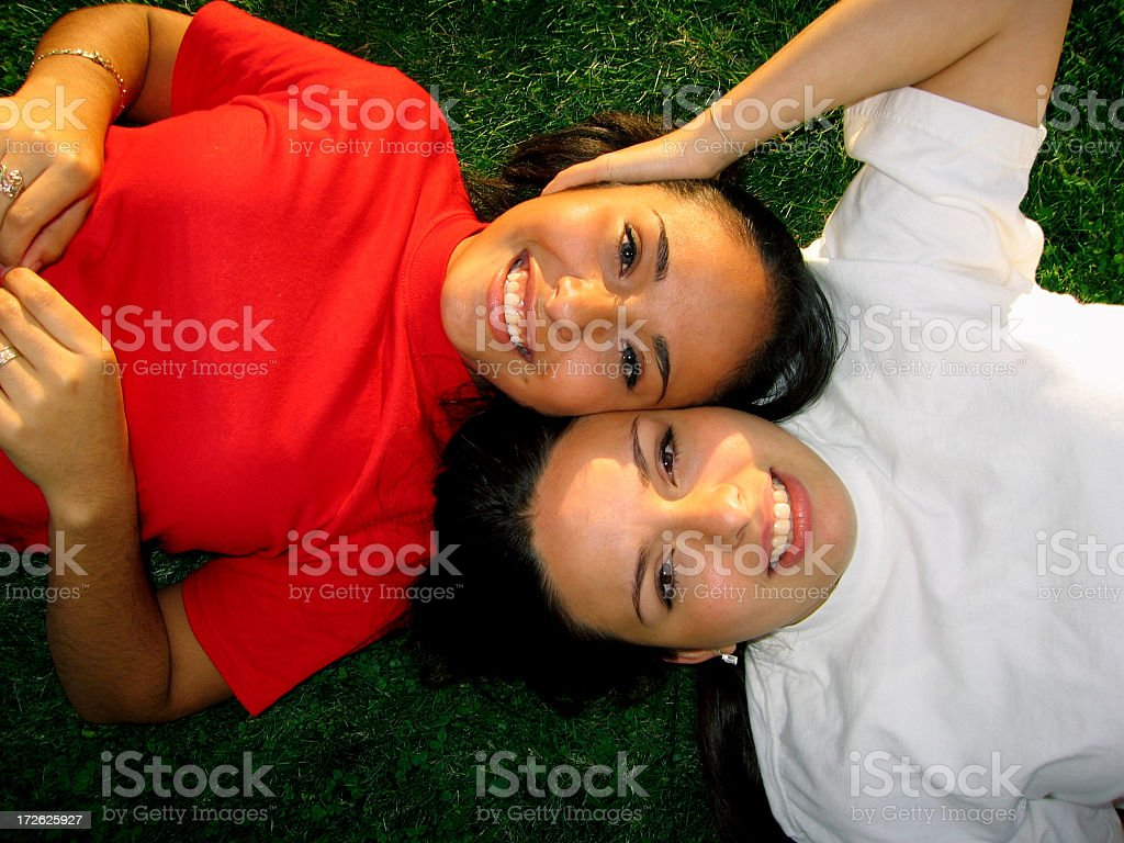 Latin Friendship stock photo