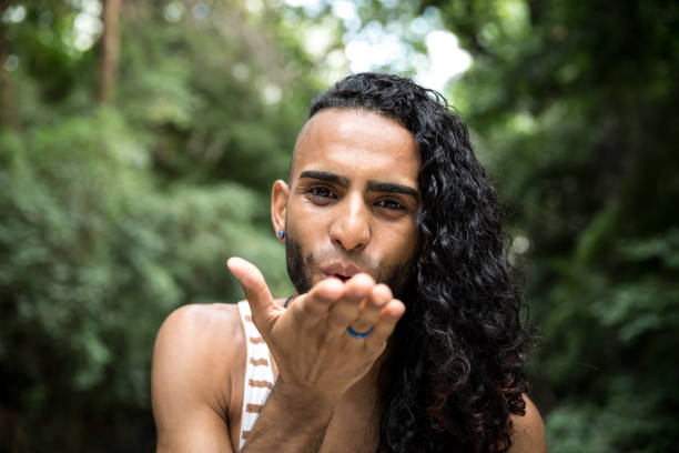 latin homosexual man - transsexual stock photos and pictures