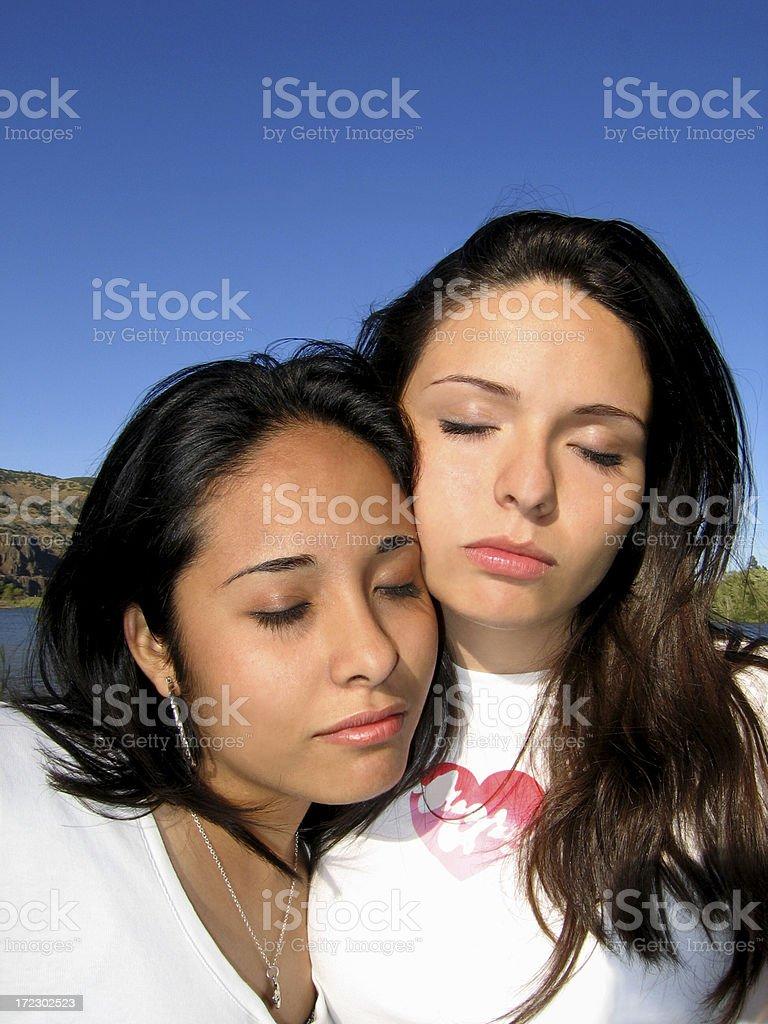 Latin Sisterhood royalty-free stock photo