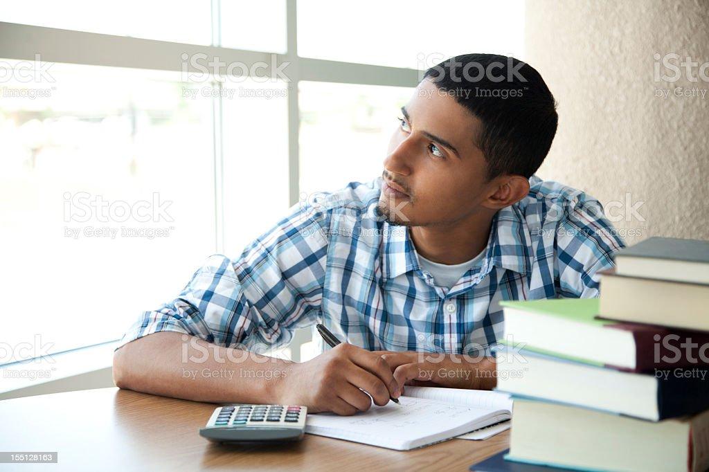 Latin student zu rechnen. Die Arbeiten – Foto