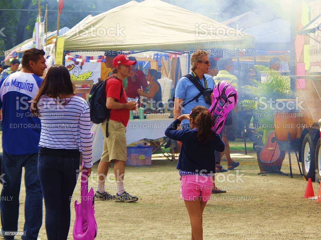 Latin Summer Festival - Vancouver stock photo