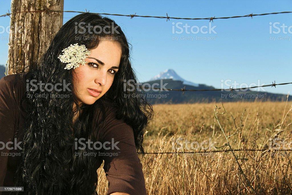 Latin Woman royalty-free stock photo
