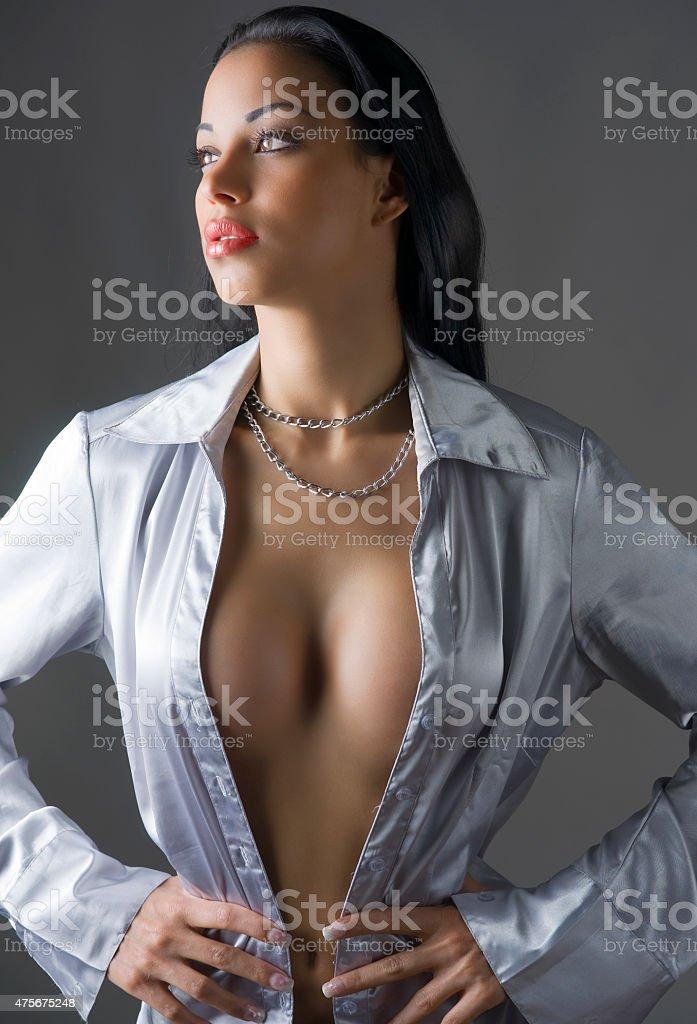 latina girl stock photo