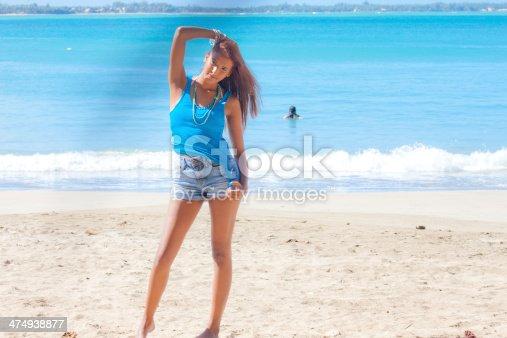 Nude tits latina teen model in