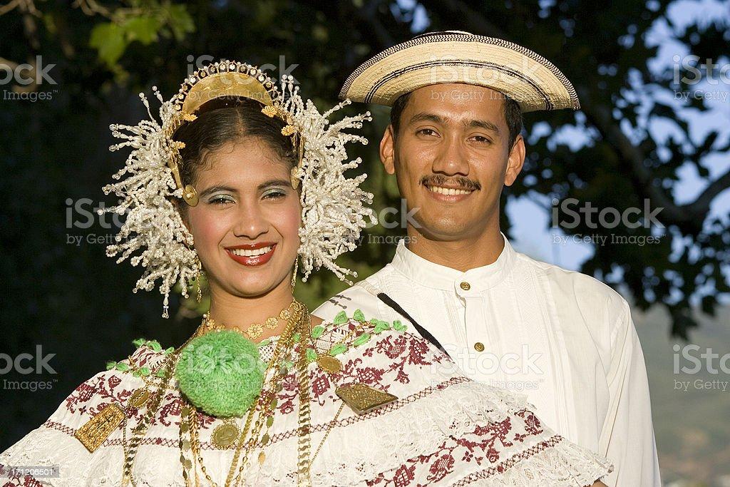 Latino Couple royalty-free stock photo
