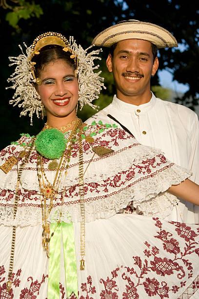 latino paar - damen rock kostüme stock-fotos und bilder