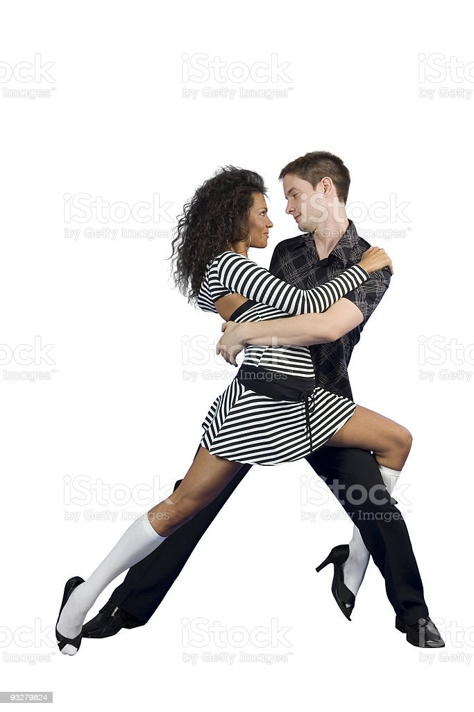 Latino Dance royalty-free stock photo