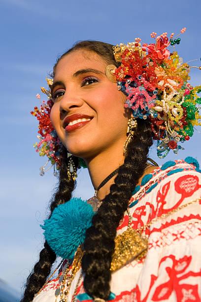 Latino Dancer Portrait stock photo