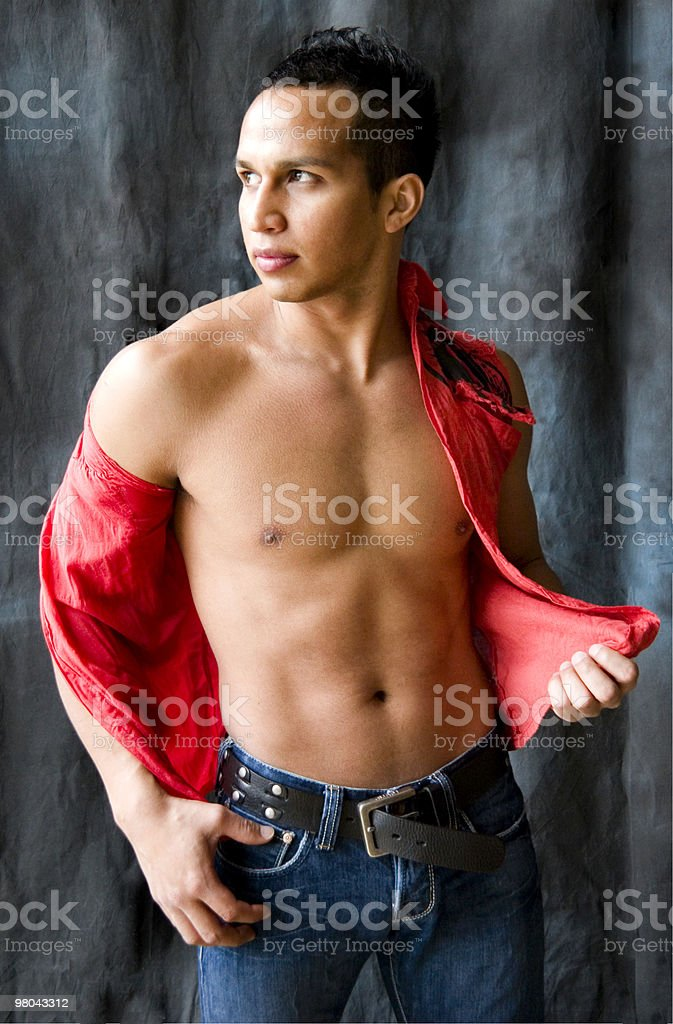 Latino Man in Fashion Image royalty-free stock photo