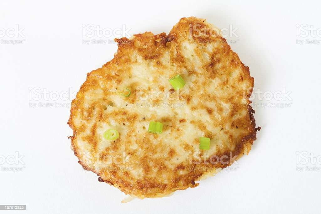 Latke stock photo