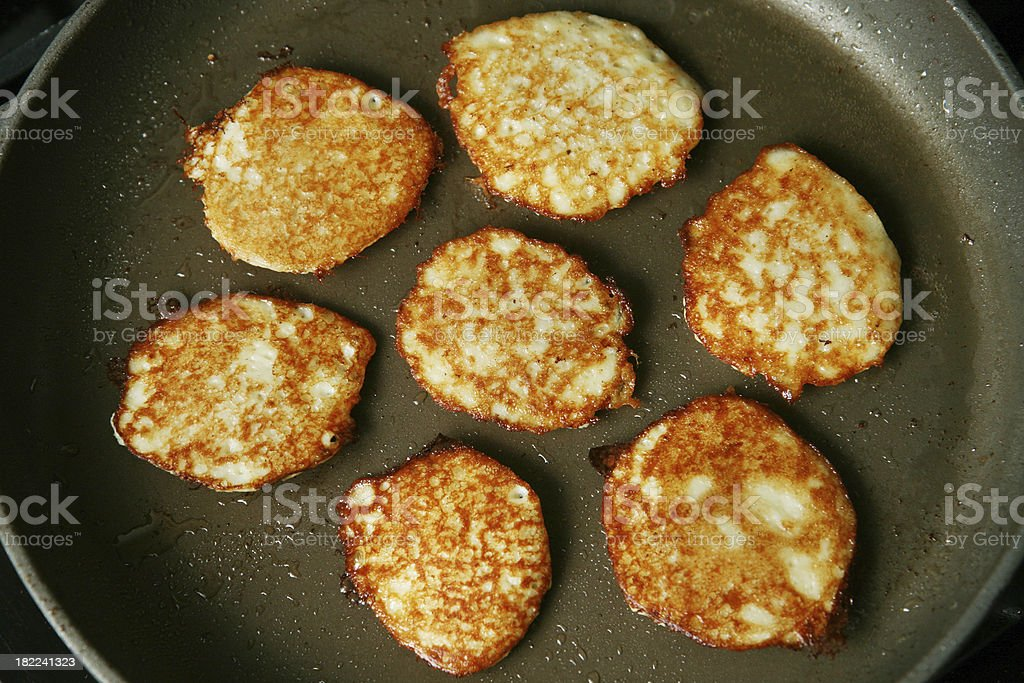 Latkes stock photo