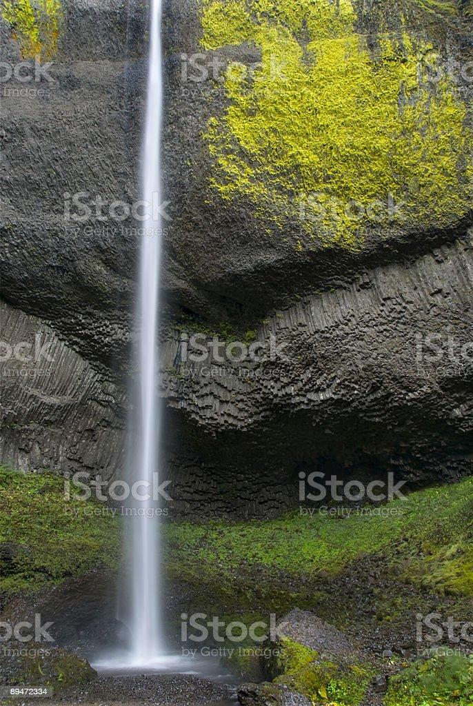 Cascadas de Latourell foto de stock libre de derechos