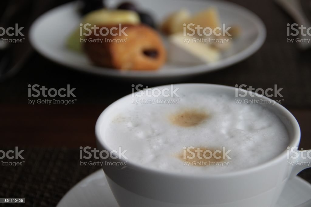 latte coffee in Seoul royalty-free stock photo