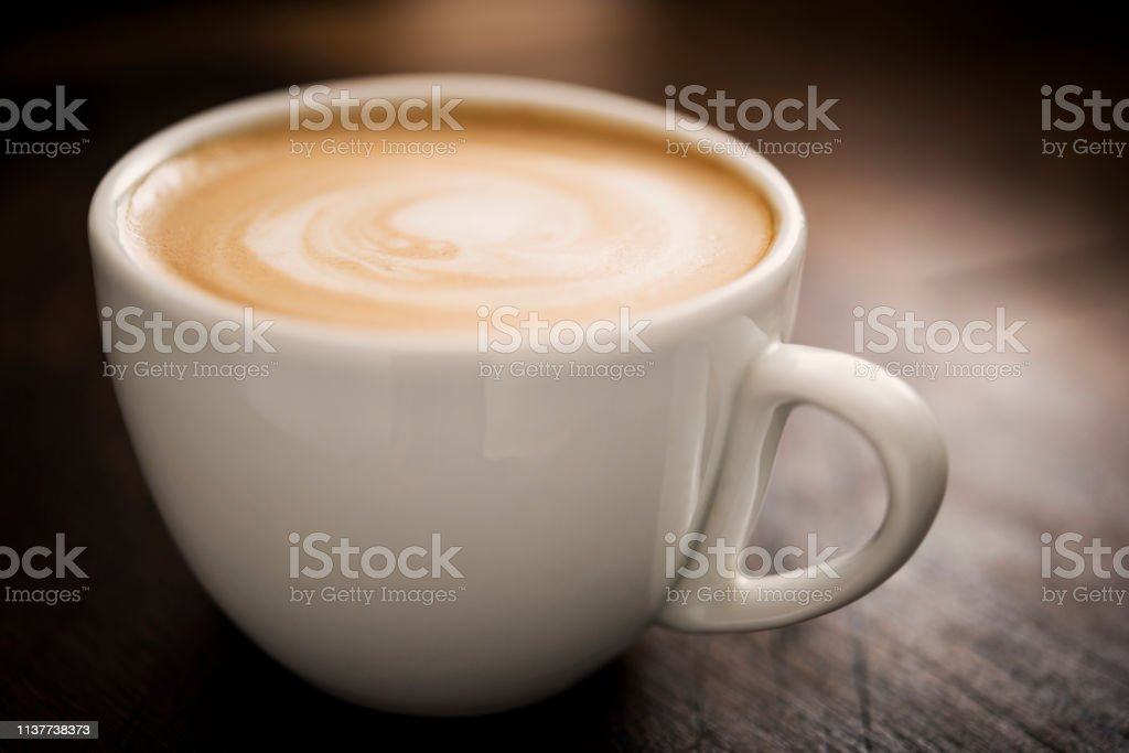 Latte Coffee stock photo