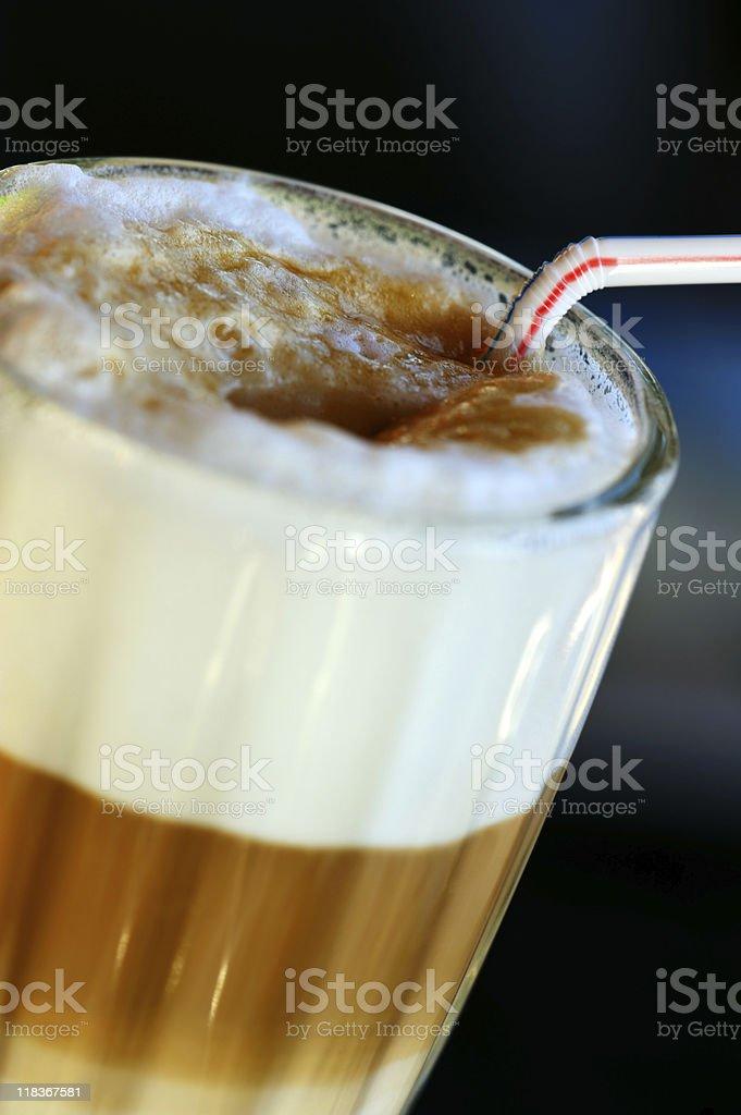 Latte coffee royalty-free stock photo