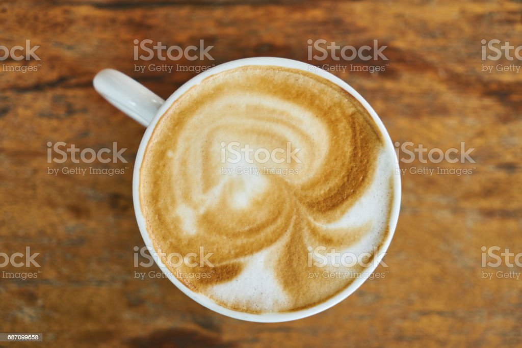 Latte Macchiato Kaffee Lizenzfreies stock-foto