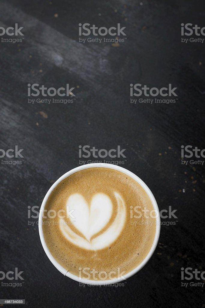 Latte stock photo